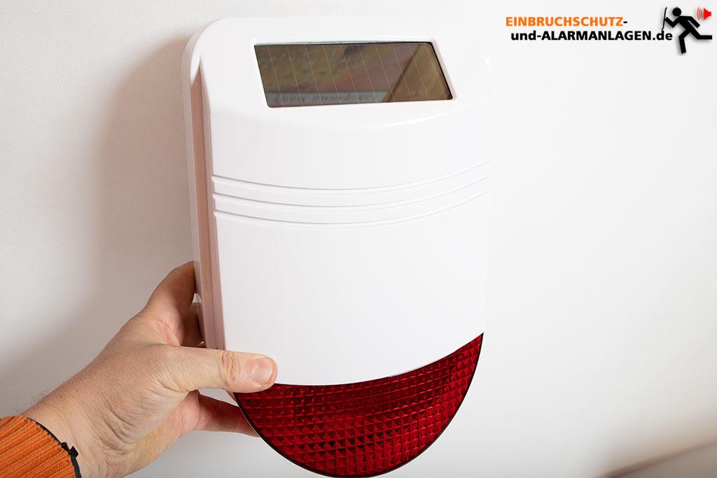Safe2home Sp110 Test Gsm Alarmanlage Mit Solar Sirene Und Rfid