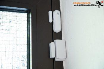 Safe2Home-SP110-Test-Tuer-Fenster-Sensoren-montiert
