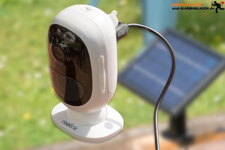 Reolink Arfus 2 Test und Solarpanel Test