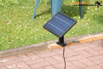 Reolink Solarpanel Test