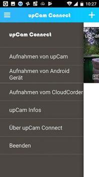 app-upCam-Cyclone-HD-PRO-menu