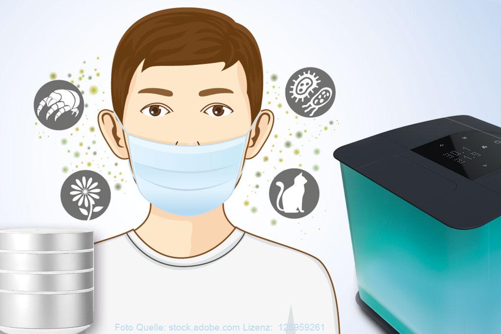 Luftverschmutzung-Luftreiniger