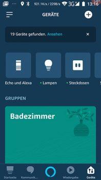 Alexa-App-Screenshot-Geraeteuebersicht