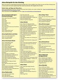 Alexa-Beispiele PDF