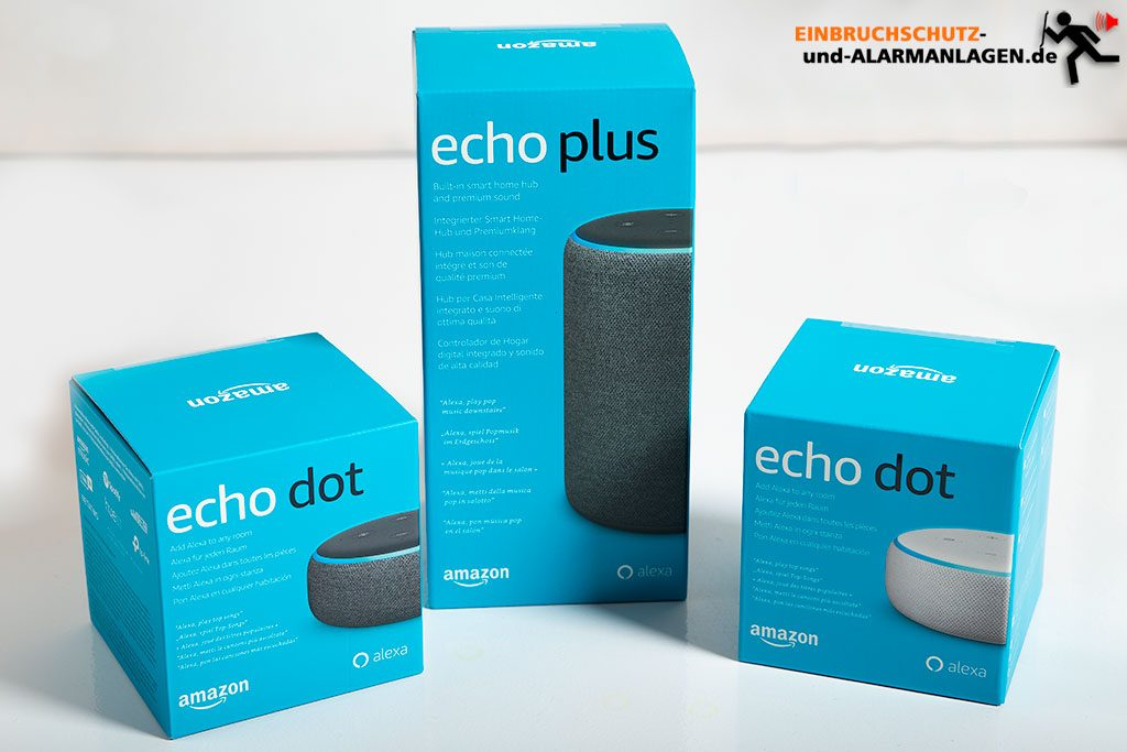 Alexa-Smarthome-Echo-Test-Echo-Plus-Echo-Plus-auspacken