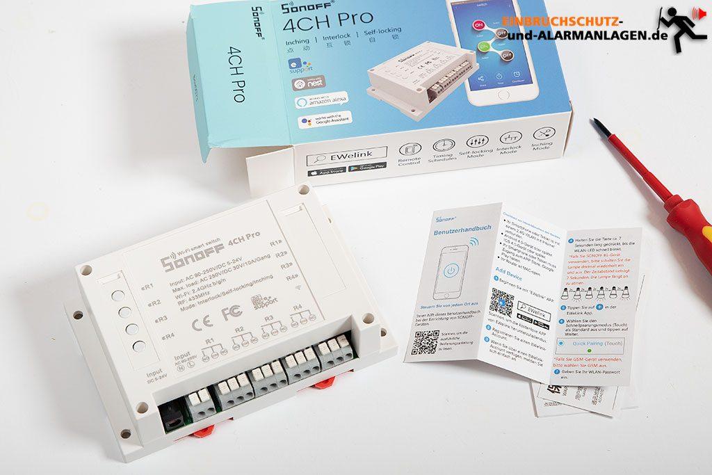 Sonoff-4CH-Pro-vierfach-Zigbee-Schalter-mit-Alexa-steuern-1