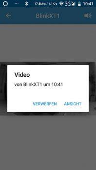 Blink-XT-App-Push-nachricht