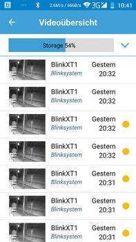 Blink-XT-App-Videouebersicht