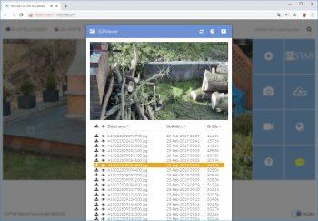 Instar-IN-9020-Full-HD-Test-Webinterface-4-SD-Karten-Zugriff
