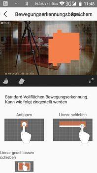 App-EZVIZ-Ueberwachungskamera-CTQ3W-Bewegungserkennungsbereich