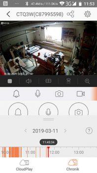 App-EZVIZ-Ueberwachungskamera-CTQ3W-Chronik