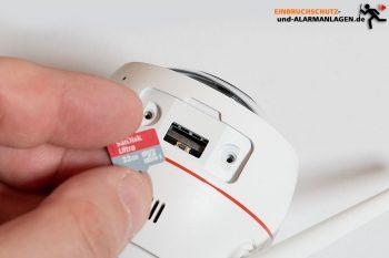 Test-EZVIZ-Ueberwachungskamera-CTQ3W-Speicherkarte