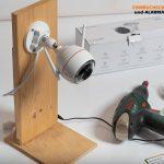 Test-EZVIZ-Ueberwachungskamera-CTQ3W-Testmontage