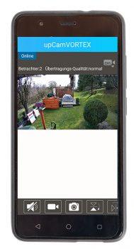upcam-Vortex-HD-ProTest-Ueberwachungskamera-Smartphone
