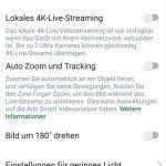App-Arlo-Ultra-Test-Videoeinstellungen