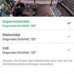 App-Arlo-Ultra-Test-Videoeinstellungen-Weitwinkel