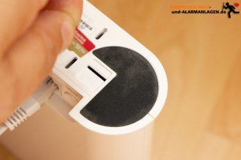 Arlo-Ultra-Test-4k-Ueberwachungskamera-Hub-vmb5000-Speicherkarte-2