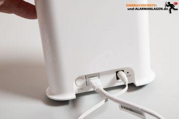 Arlo-Ultra-Test-4k-Ueberwachungskamera-Hub-vmb5000-Verbinden