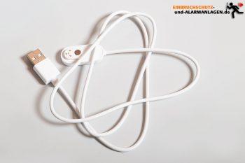 Arlo-Ultra-Test-4k-Ueberwachungskamera-Magnet-Ladekabel