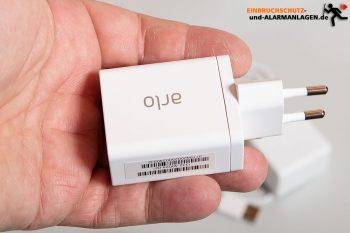 Arlo-Ultra-Test-4k-Ueberwachungskamera-USB-Ladegeraet-2