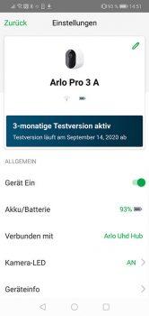 Arlo-Pro-3-App-Test-Einstellungen-1