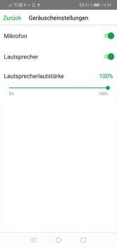 Arlo-Pro-3-App-Test-Geraeuscheinstellungen