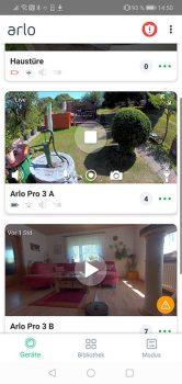 Arlo-Pro-3-App-Test-Hauptscreen-2