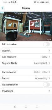 Reolink-App-Argus-3-Test-Display-Einstellungen