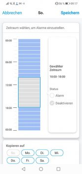 Reolink-App-Argus-3-Test-Zeitplan