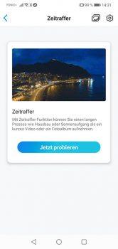 Reolink-App-Argus-3-Test-Zeitraffer