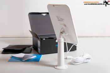 Reolink-Argus3-Test-Solarpanel-fuer-Kamera-mit-Wandhalter