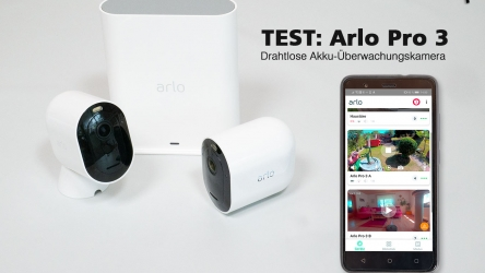 Arlo Pro 3 Test – Kabellose In- und Outdoor Überwachungskamera
