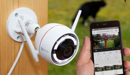 EZVIZ CTQ3W Test – Full HD Außenkamera