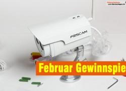 Verlosung Überwachungskamera Foscam FI9803P