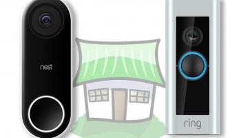Nest Hello: WLAN-Türklingel im Vergleich mit der Ring Doorbell Pro